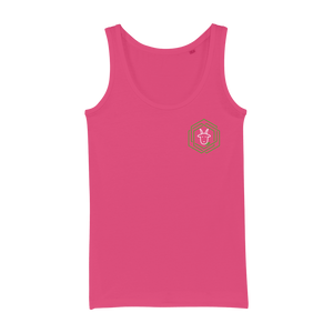 eco friendly, environmental friendly, ecological, bio, biological, reusable, environmentalist, organic, green, sustainable clothing, sustainable fashion, sustainable brands, sustainable development. plastic free shop, organic cotton, tank top, pink,