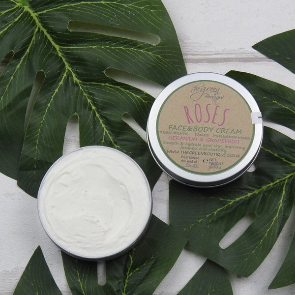 Roses Face & Body Cream