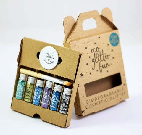 Sky Biodegradable Glitter Set