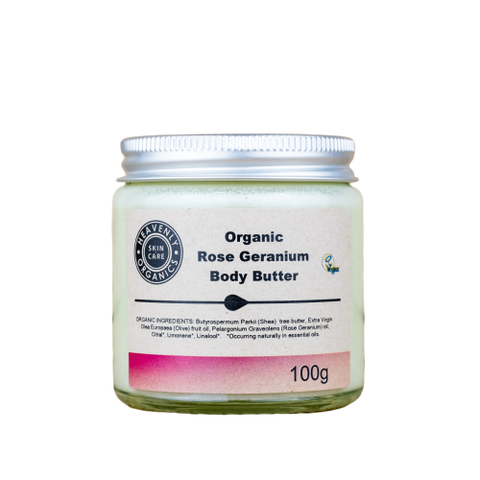 Organic Body Butter (Rose Geranium)