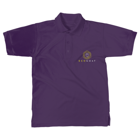 eco friendly, environmental friendly, ecological, bio, biological, reusable, environmentalist, organic, green, sustainable clothing, sustainable fashion, sustainable brands, sustainable development. plastic free shop, organic cotton, polo, polo shirt, purple,