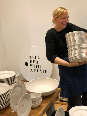 Annette Germeno TELL HER WITH A PLATE