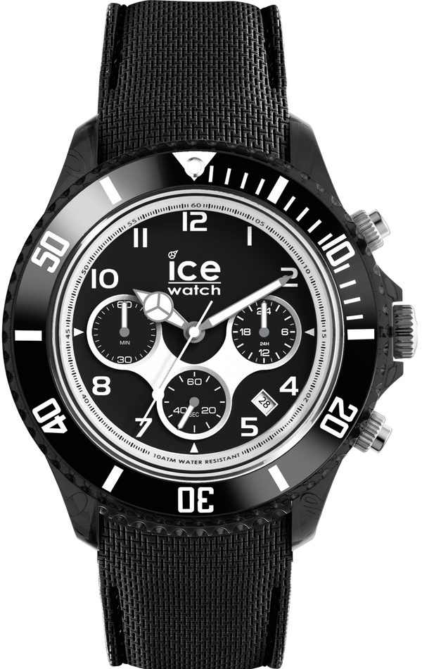 ICE WATCH Dune Collection Black Case 44mm (L) Black Dial Black Strap