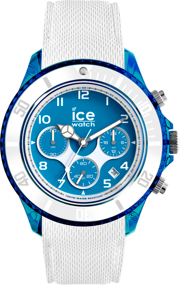 ICE WATCH Dune Collection Blue Case 44mm (L) Blue Dial White Strap