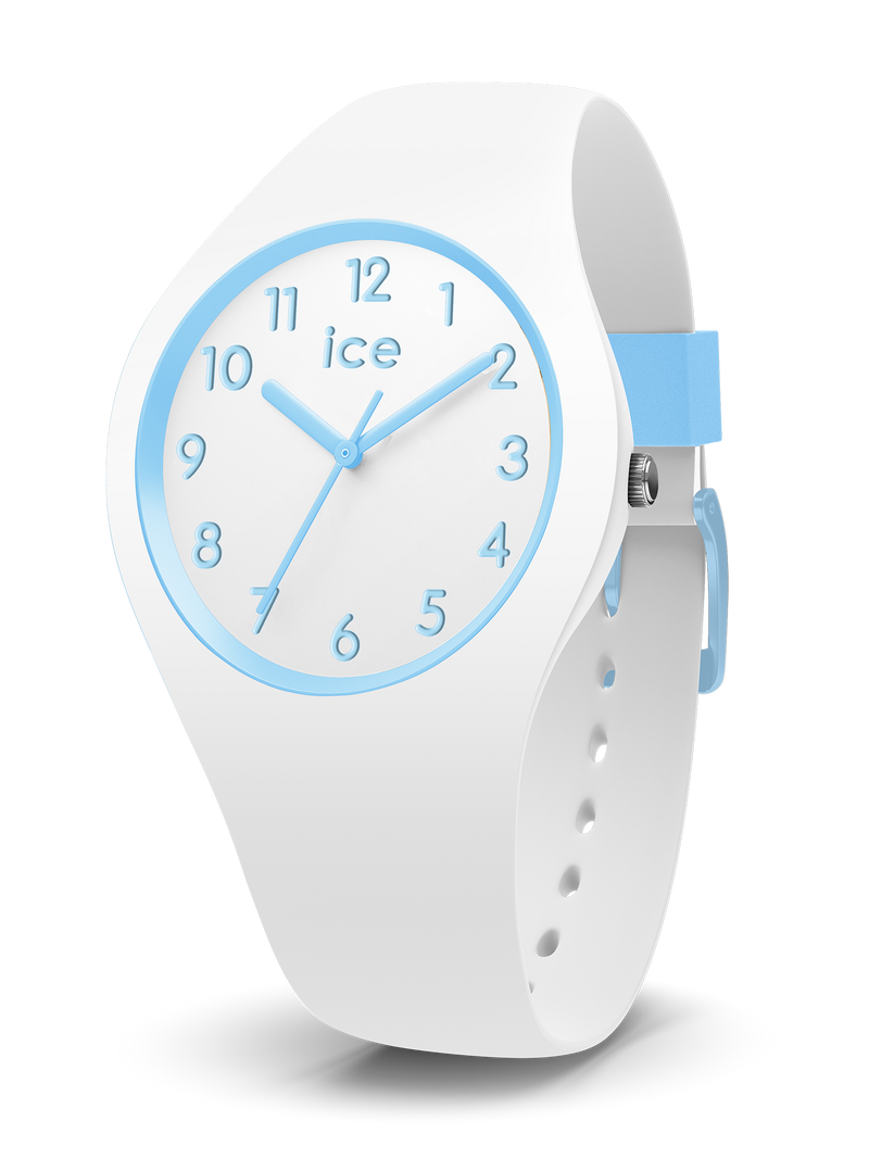ICE WATCH Ola Kids Collection Blue Case 34mm (S) White Dial White Strap