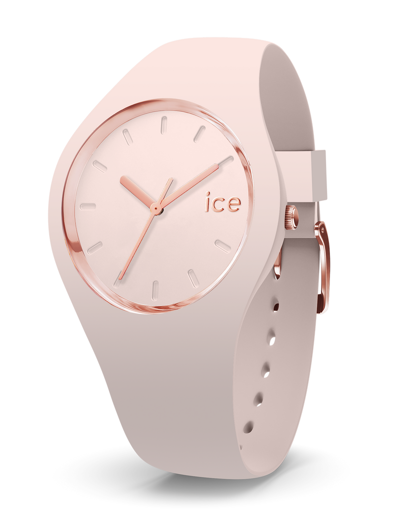 ICE WATCH Glam Colour Collection Rose Gold Case 40mm (M) Nude Dial Nude Strap