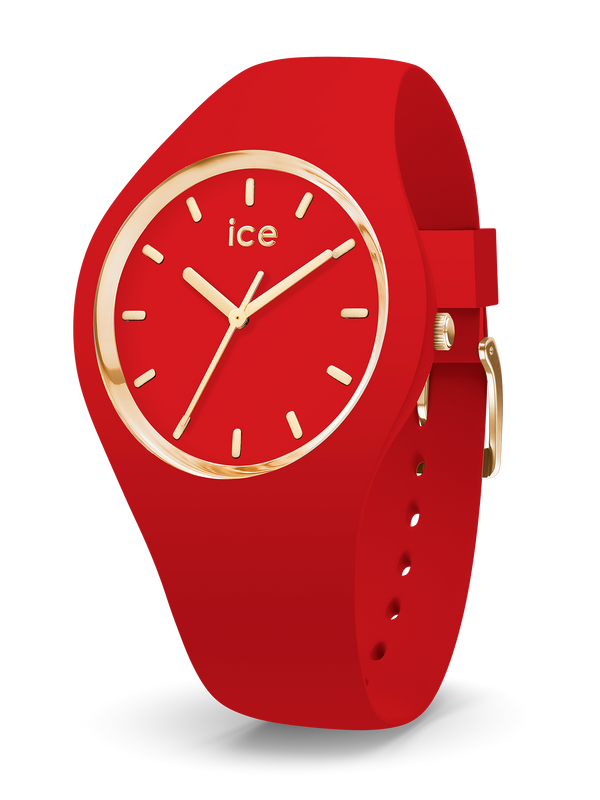 ICE WATCH Glam Colour Red Medium 3H