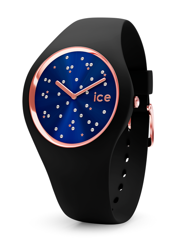 ICE WATCH Cosmos Star Deep Blue Medium 2H