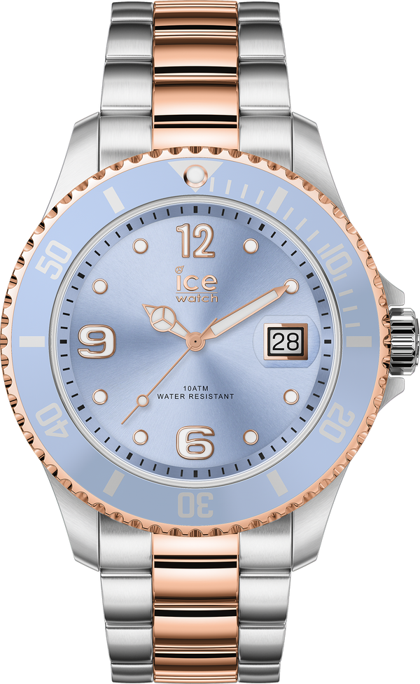 ICE WATCH Steel Sky Silver Rosegold Medium 3H