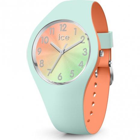 ICE WATCH Duo Chic Aqua Coral Small 3H