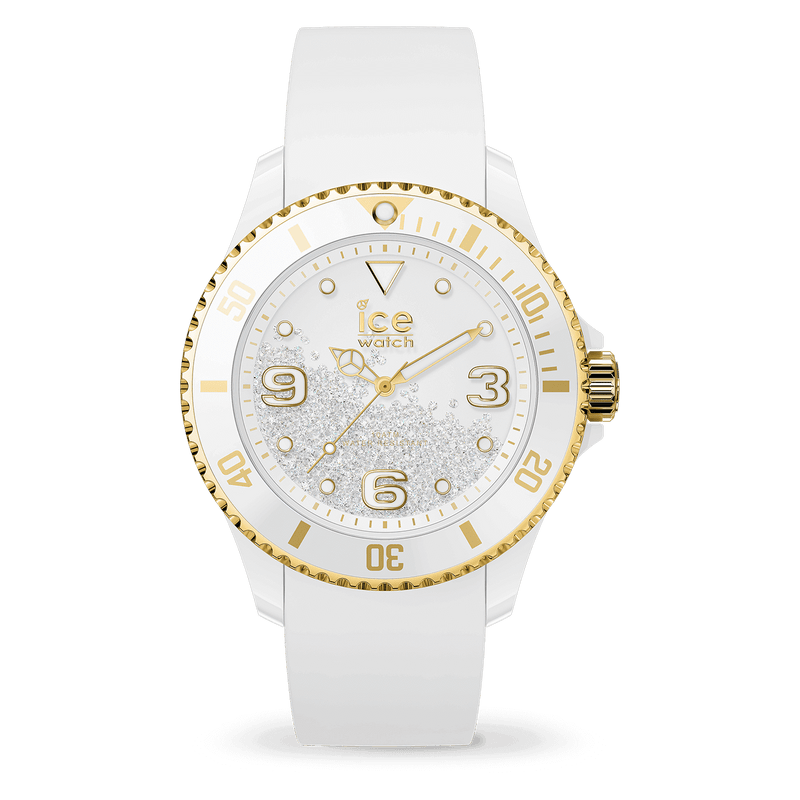 ICE WATCH Crystal White Gold Smooth Medium 3H