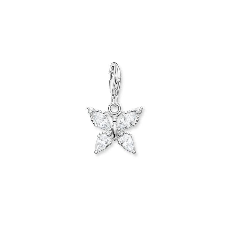 Thomas Sabo Charm Pendant Butterfly Silver