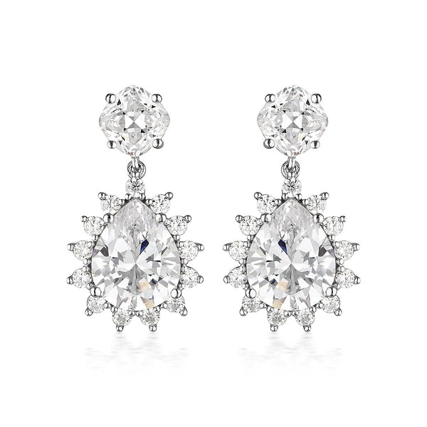 Georgini Luxe Velluto Earrings Silver