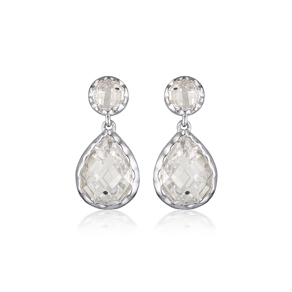Georgini Luxe Nobile Earrings Silver