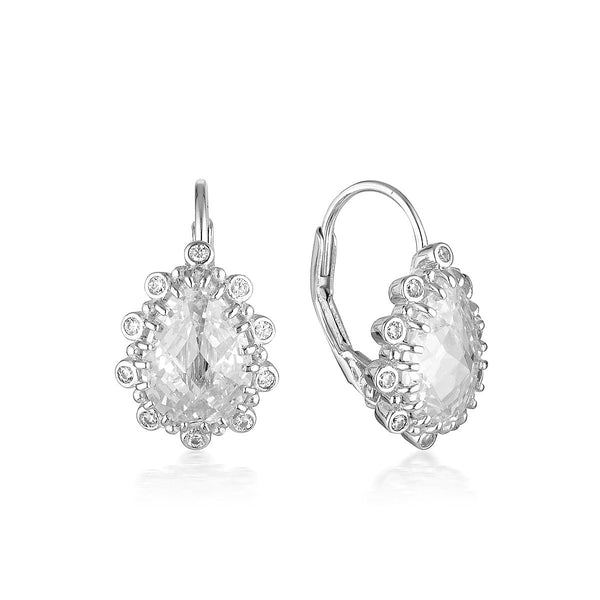 Georgini Luxe Oppulenza Earrings Silver
