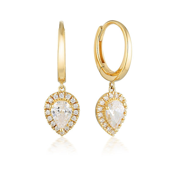Georgini Luxe Splendore Earrings Gold