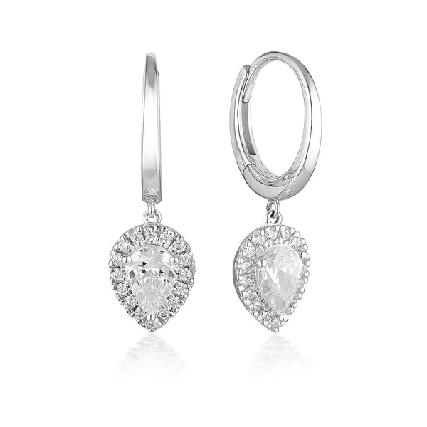 Georgini Luxe Splendore Earrings Silver