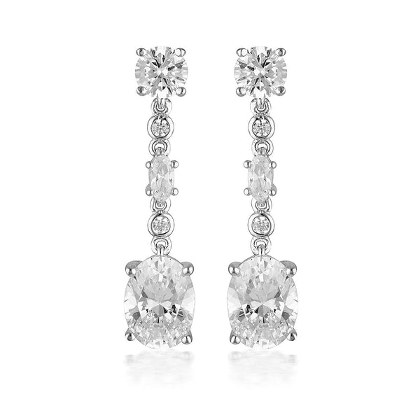 Georgini Luxe Lusso Earrings Silver