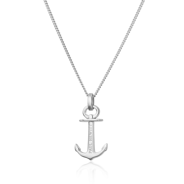 Paul Hewitt Anchor Spirit Silver Necklace