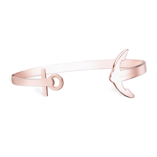 Paul Hewitt Ancuff Rose Gold Bracelet