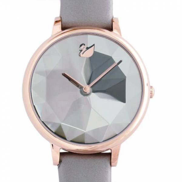 Swarovski Crystal Lake Watch LS Taupe