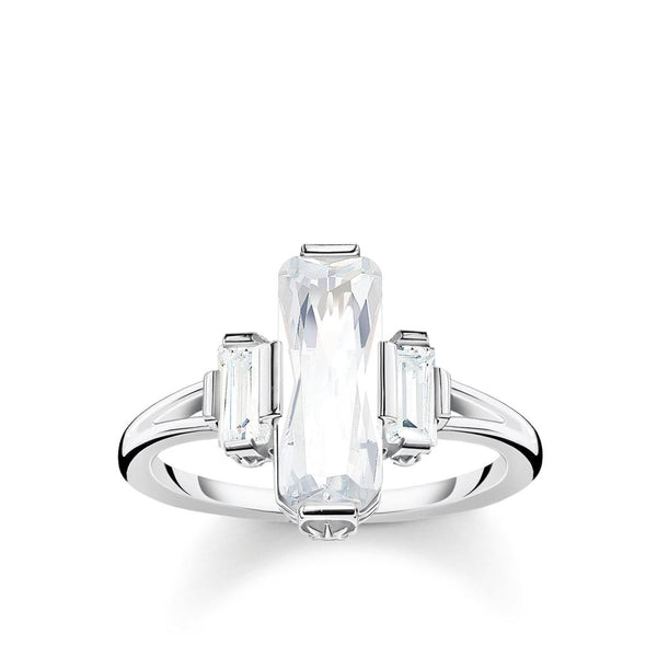 THOMAS SABO - Magic Stones Baguette CZ Ring