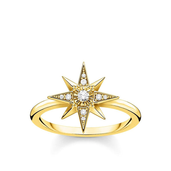 THOMAS SABO - Magic Starts CZ Yellow Gold Ring