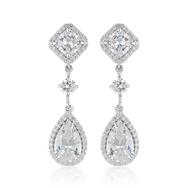Georgini Love is in the Air Marianna Drop Earrings