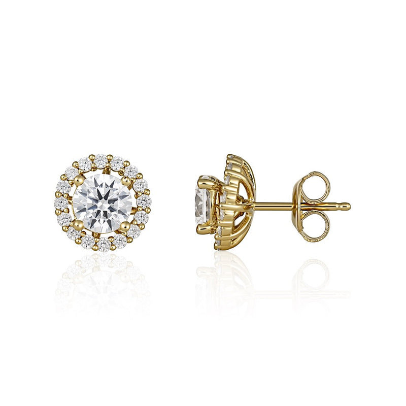 Georgini Heirloom Esteem Earrings Gold