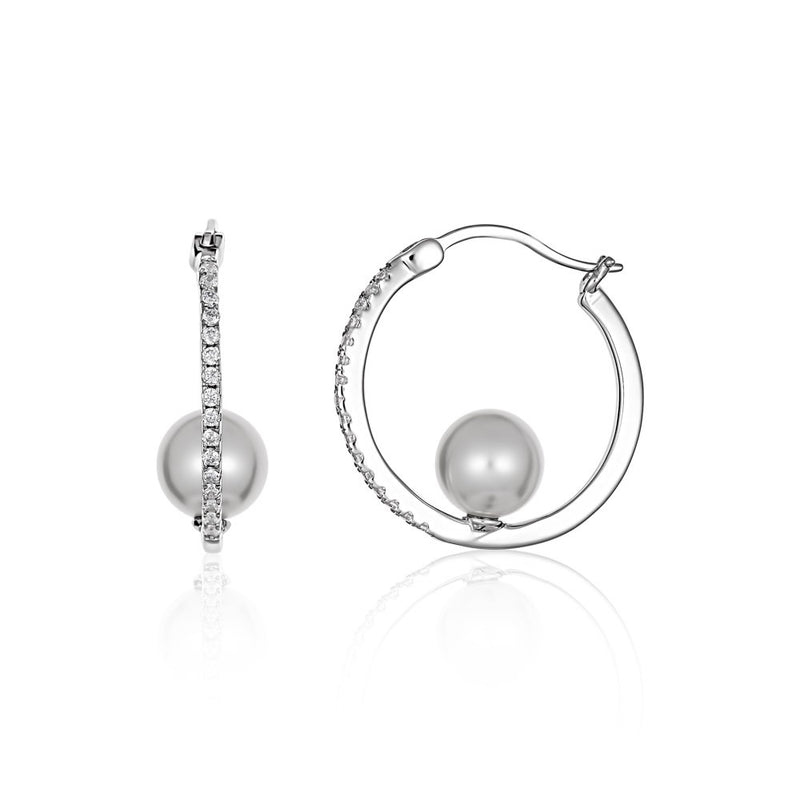 Georgini Heirloom Adored Earrings Silver