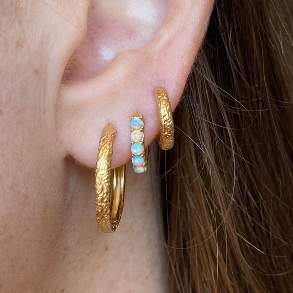 El & Ro - Lauve Gold Hoops