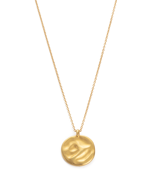 KIRSTIN ASH - Renewal Circle Necklace 18K Gold Plated