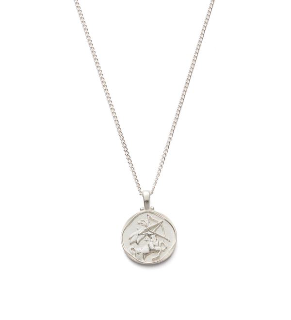 KIRSTIN ASH - Sagittarius Zodiac Sterling Silver Necklace
