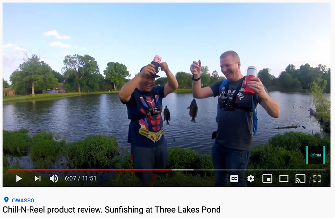 918 Fishing reviews the Chill-n-Reel [Video]