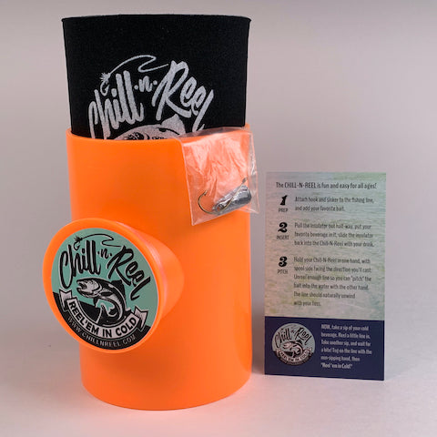 Chill-N-Reel - the fishing can cooler
