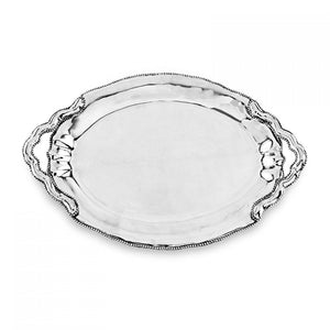 Beatriz Ball Pearl Denisse Oval Tray with Handles