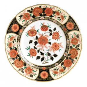 Royal Crown Derby Imari Accent Plate, Antique Chrysanthemum