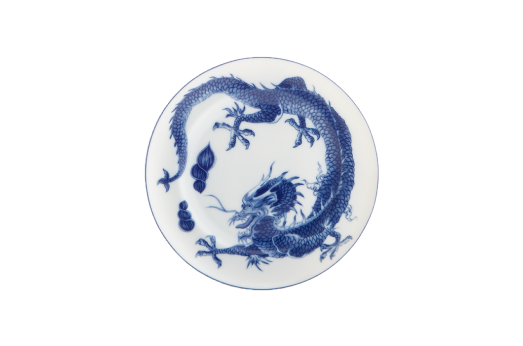 Mottahedeh Blue Dragon Bread & Butter Plate
