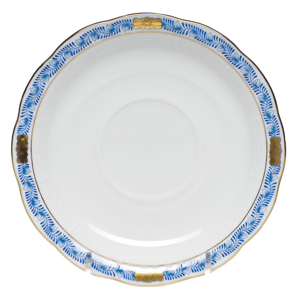 Herend Blue Garland Saucer
