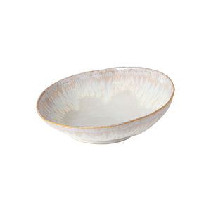 "Costa Nova Brisa 9"" Serving Bowl, White"
