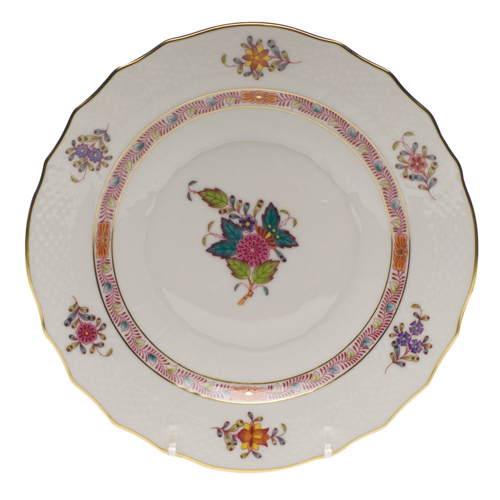 Herend Chinese Bouquet Salad Plate, Multicolor