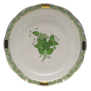 Herend Chinese Bouquet Tea Saucer, Green