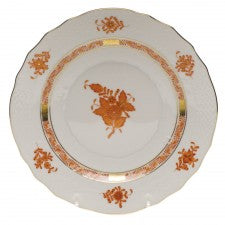 Herend Chinese Bouquet Salad Plate, Rust