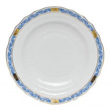 Herend Chinese Bouquet Garland Salad Plate, Blue