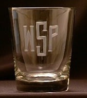 15oz Monogrammed Double Old Fashioned