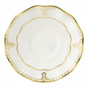 Royal Crown Derby Elizabeth Gold Tea Saucer