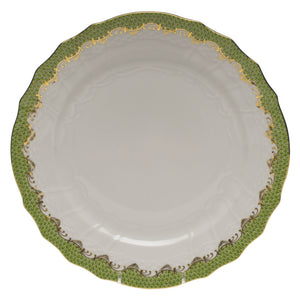 Herend Fish Scale Service Plate, Evergreen