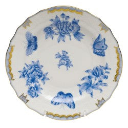 Herend Fortuna Salad Plate, Blue