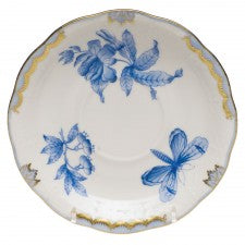 Herend Fortuna Tea Saucer, Blue