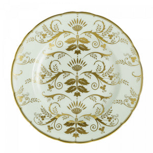 Royal Crown Derby Harlequin Darley Abbey Green Plate